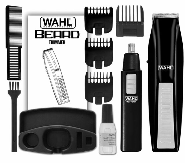 Cordless Haircut Kit Home Electric Clipper Shaving Hair Removal Trimmer Ear Nose