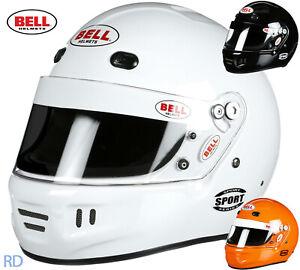 Bell-Sport-Helmet-Snell-SA2015-Rated-Auto-Racing-amp-Karting-Full-Face-Helmet