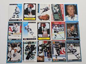 Lot-of-15-1990-039-s-SCORE-CANADIAN-WAYNE-GRETZKY-CARDS-DREAM-TEAM-SEASON-LEADER