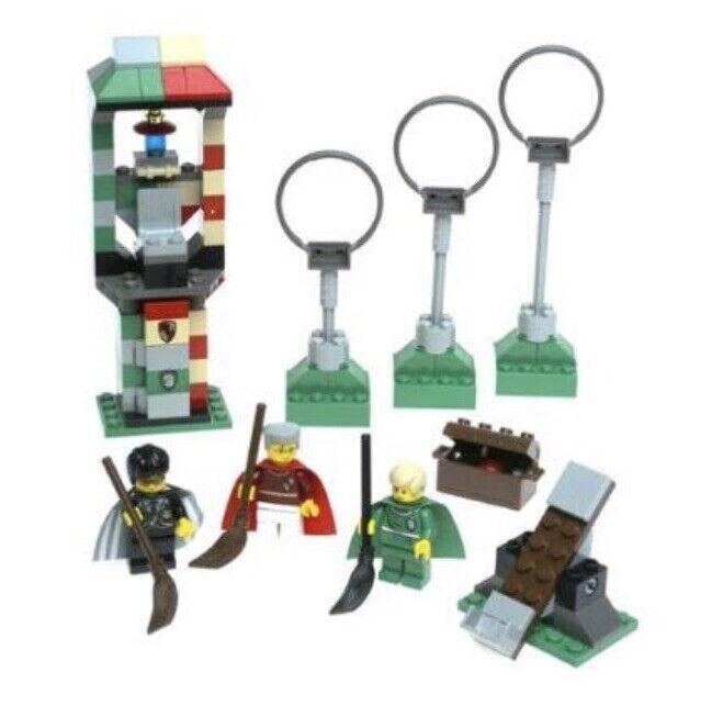 Lego Harry Potter Quidditch Practice 4726 - 100% Complete