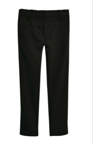 11years Boys Ex Next Formal Stretch Skinny  black school  trouser