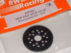 RW-RACING-RW48D-Diff-Spur-Gear-48dp-60T-62T-64T-66T-68T-69T-72T
