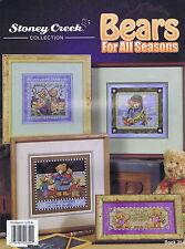 Bears For All Seasons Cross Stitch Chart Pattern Stoney Creek 6 Designs