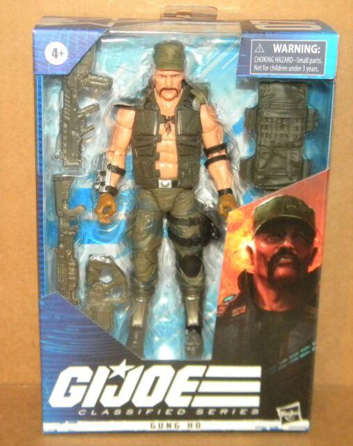 "GUNG HO #07 G.I. Joe Classified Series 6"" Action Figure 2021 Hasbro"