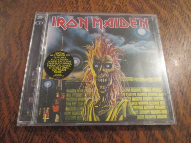 cd album iron maiden prowler + cd bonus