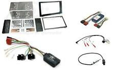 Saab 9-3 06-14 Double Din Car Stereo Complete Fitting Kit for amplified cars