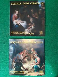 VATICANO-2010-Libretti-di-Natale-FDC