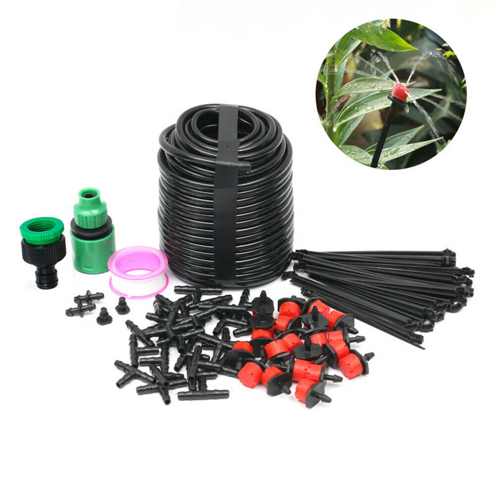 Spray Drip Head Tube Mix Set Home Gardening Tool Automatic Water System Cooling