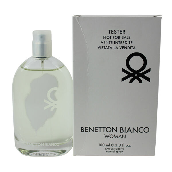 Perfume Tester Wholesale Philippines: BENETTON Bianco Discount Fragrance EDT Spray 3.4 Oz *tester By Benetto