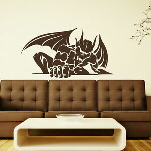 RISING DEVIL SATAN WINGS WALL ART STICKER DECAL huge removable vinyl uk RA151 - <span itemprop=availableAtOrFrom>Tamworth, Staffordshire, United Kingdom</span> - You Are welcome to return your wall stickers if you are unhappy for any reason please notify within 14 days, should the return be due to an error by us we will pay return  - Tamworth, Staffordshire, United Kingdom