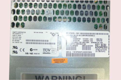 IBM 19P0692 19P0708 6134 MAMMOTH-2 60//150 GB  8MM LVD//SE TAPE DRIVE 270015-1531