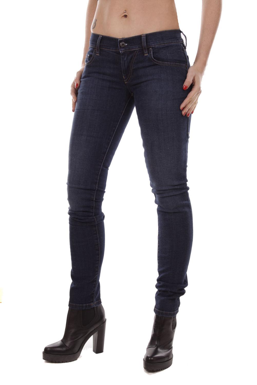 Diesel women Grupee RV418 Jeans Aderenti Super-Sottile