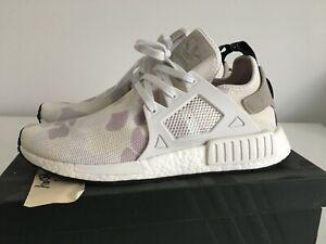 6409f6756 Adidas NMD XR1 Duck Camo 10 44 BA7233 White Grey Black R1 new in box ...