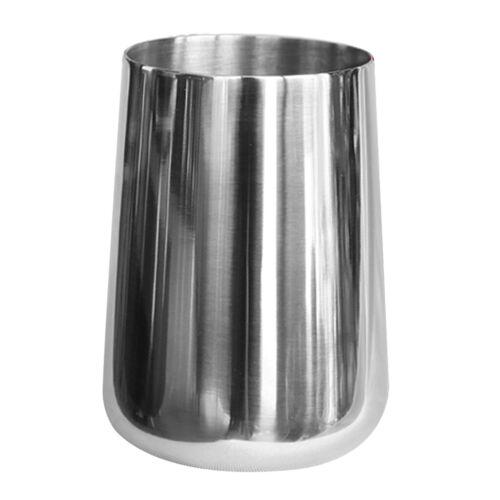 Stemless Weinglas Unzerbrechliche Edelstahlbecher Cup Kitchen 380ml