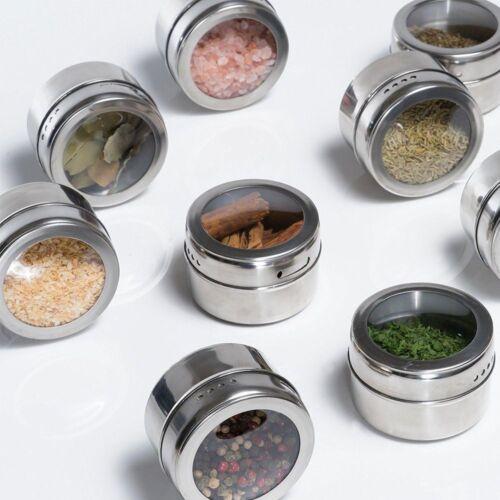 Transparent sel Titulaire Conteneur épices condiment Bouteilles Parfum flacon