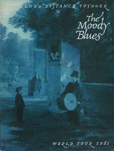 MOODY-BLUES-1981-LONG-DISTANCE-VOYAGER-TOUR-CONCERT-PROGRAM-BOOK-NMT-2-MINT