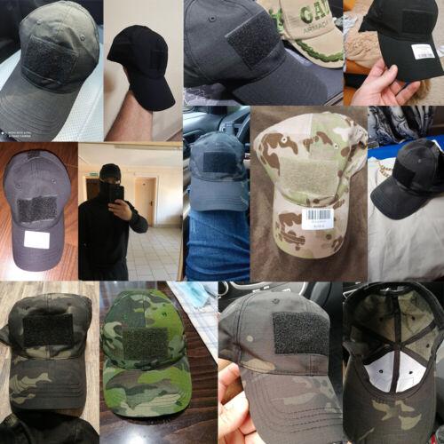 Trucker Hat Snapback Baseball Cap Camo Tactical Military Outdoor Visor Sun Caps