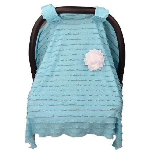 Baby Nursing Canopy Breastfeeding Scarf Blanket Shopping Cart Stroller Covers