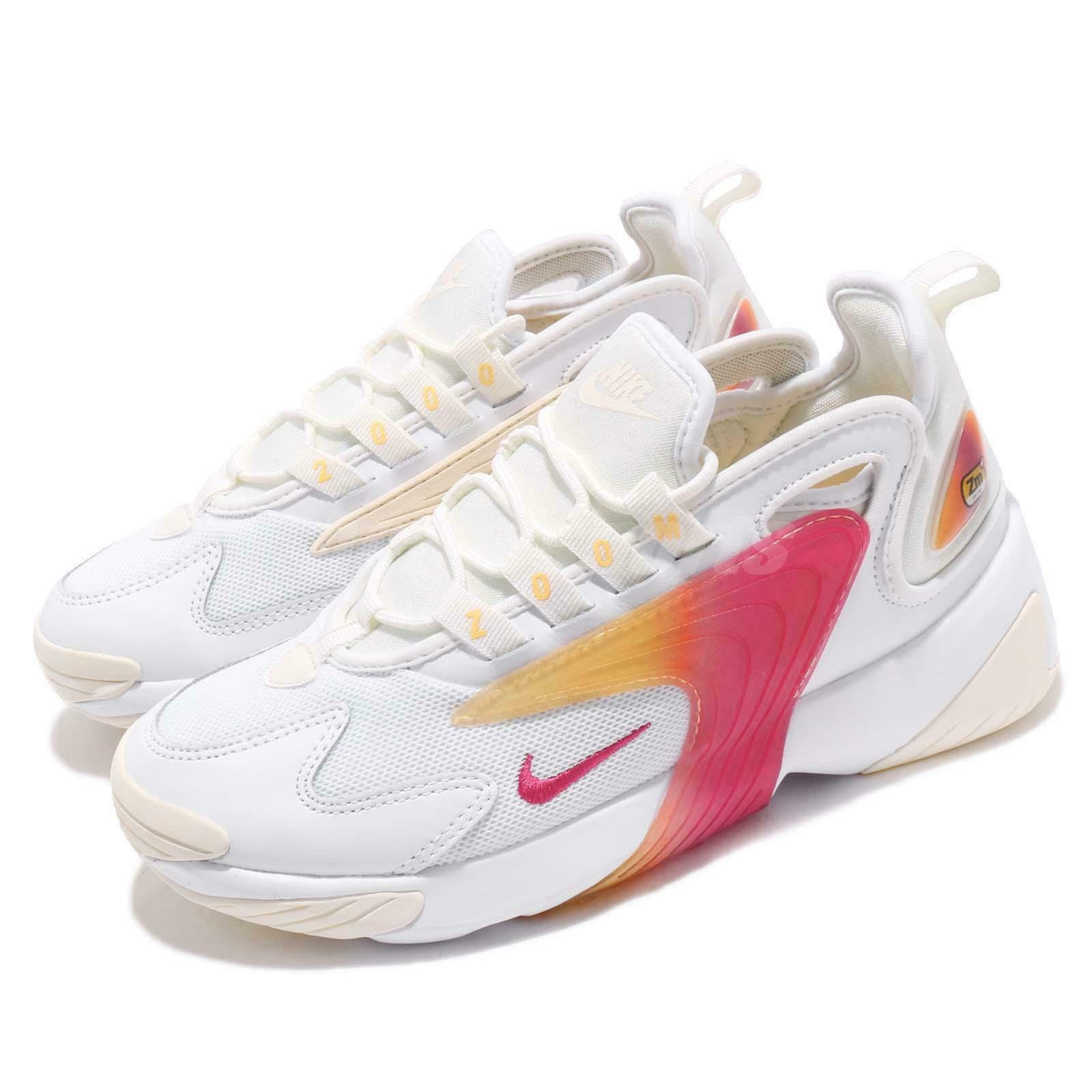 Nike Wmns Zoom 2K White Rush Pink Sail  Womens Running shoes Sneakers AO0354-102  good price
