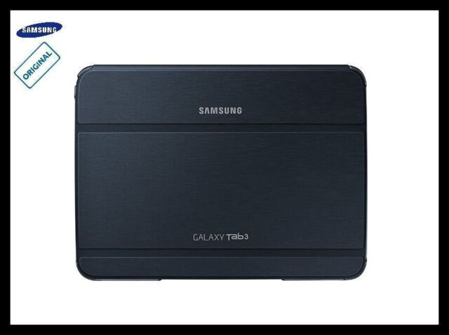 GT-P5210 Samsung Galaxy Tab 3 10.1 Case Cover Stand Leather Genuine Folio Black