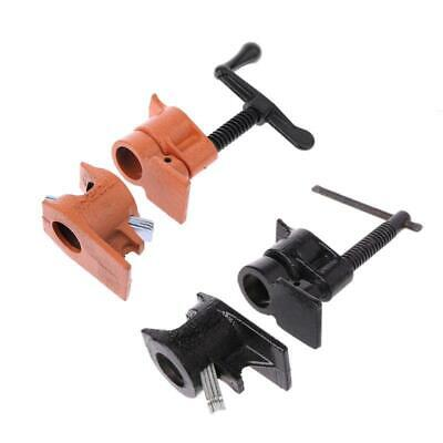 Woodworking Fixing Pipe Clamp Cast Iron Wood Gluing Pipe Clamps