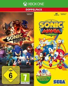 Xbox One Sonic Forces Sega + Sonic Mania Plus Deutsch NEU