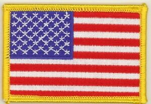 25-Pcs-USA-American-Flag-G-Embroidered-Patches-3-034-x2-034-iron-on