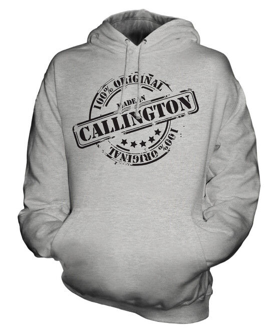 MADE IN CALLINGTON UNISEX HOODIE  Herren Damenschuhe LADIES GIFT CHRISTMAS BIRTHDAY 50TH