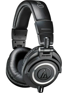 Audio-Technica-ATH-M50X-Professional-Monitor-Headphones-Black