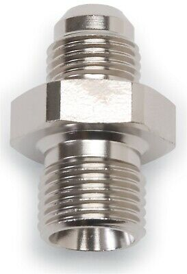 10 AN Flare to 18mm x 1.5 Metric Thread Adapter Russell by Edelbrock 670561 Endura