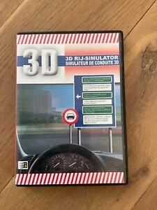 PC 3D rij-simulator simulateur de conduite rijexamen Transposia