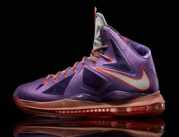 Nike LeBron 10 X AS All Star Area 72 Size Size Size 14. 583108-500 1 2 3 4 5 6 b1226e
