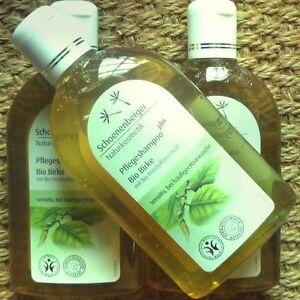 Schoenenberger-cura-Shampoo-Plus-bio-betulla-250ml-Naturkosmetik-priva-di-silicone-Vega