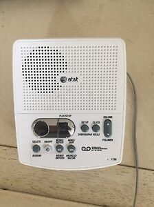 AT&T 1739 Digital Answering System Works Excellent Condition