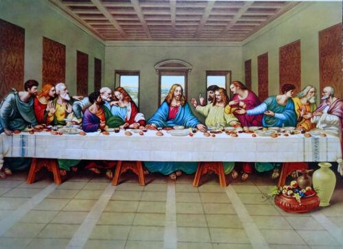 Gemälde Jesus Maria Ikonen Heiligenbild mit Rahmen 56x46 cm Religiöse Bilder 51