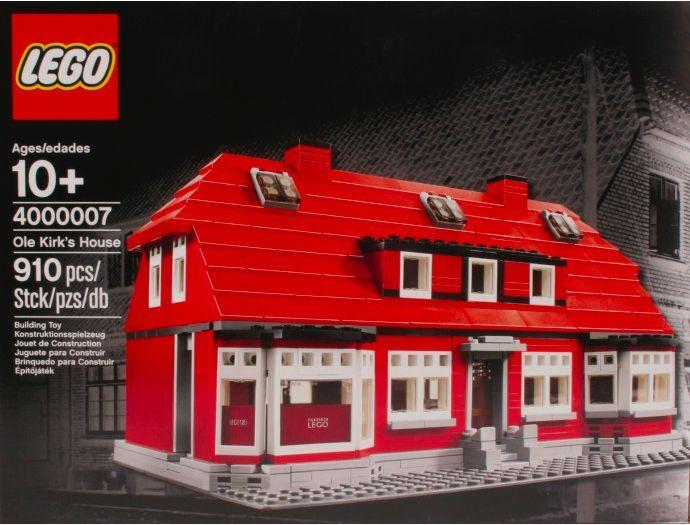 LEGO ® Exclusive Exclusive Exclusive 4000007 Ole Kirk's House Nouveau neuf dans sa boîte _ NEW En parfait état, dans sa boîte scellée Boîte d'origine jamais ouverte hard to find 751fee