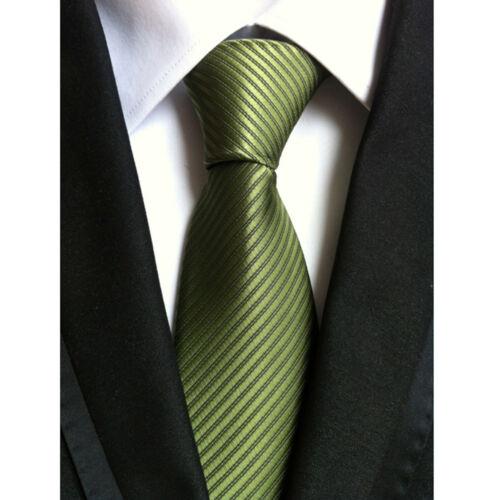 Fashion Narrow Jacquard Woven Business Skinny Slim Tie New Men/'s Silk Necktie