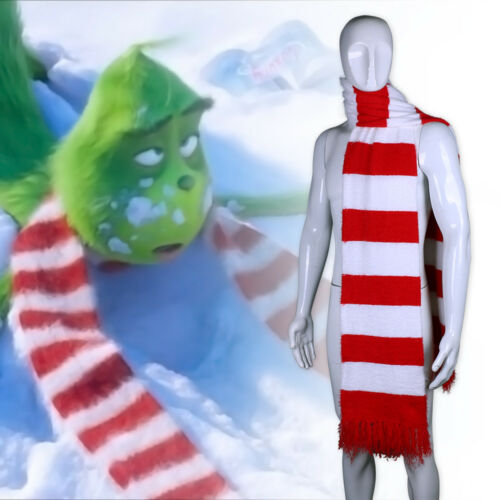 2018 New The Grinch Scarf Winter Grinch Christams Scarf Handmade Scarf Fashion