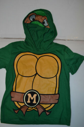 Teenage Mutant Ninja Turtles Toddler Boys Hooded T-Shirts Size Various NWT