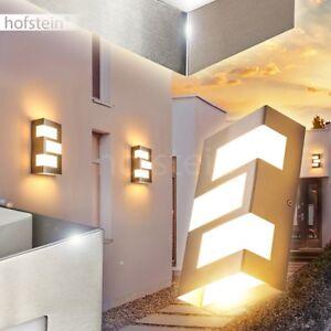 Außen Wand Leuchten LED Design Veranda Terrassen Garten Beleuchtung Hof Lampen