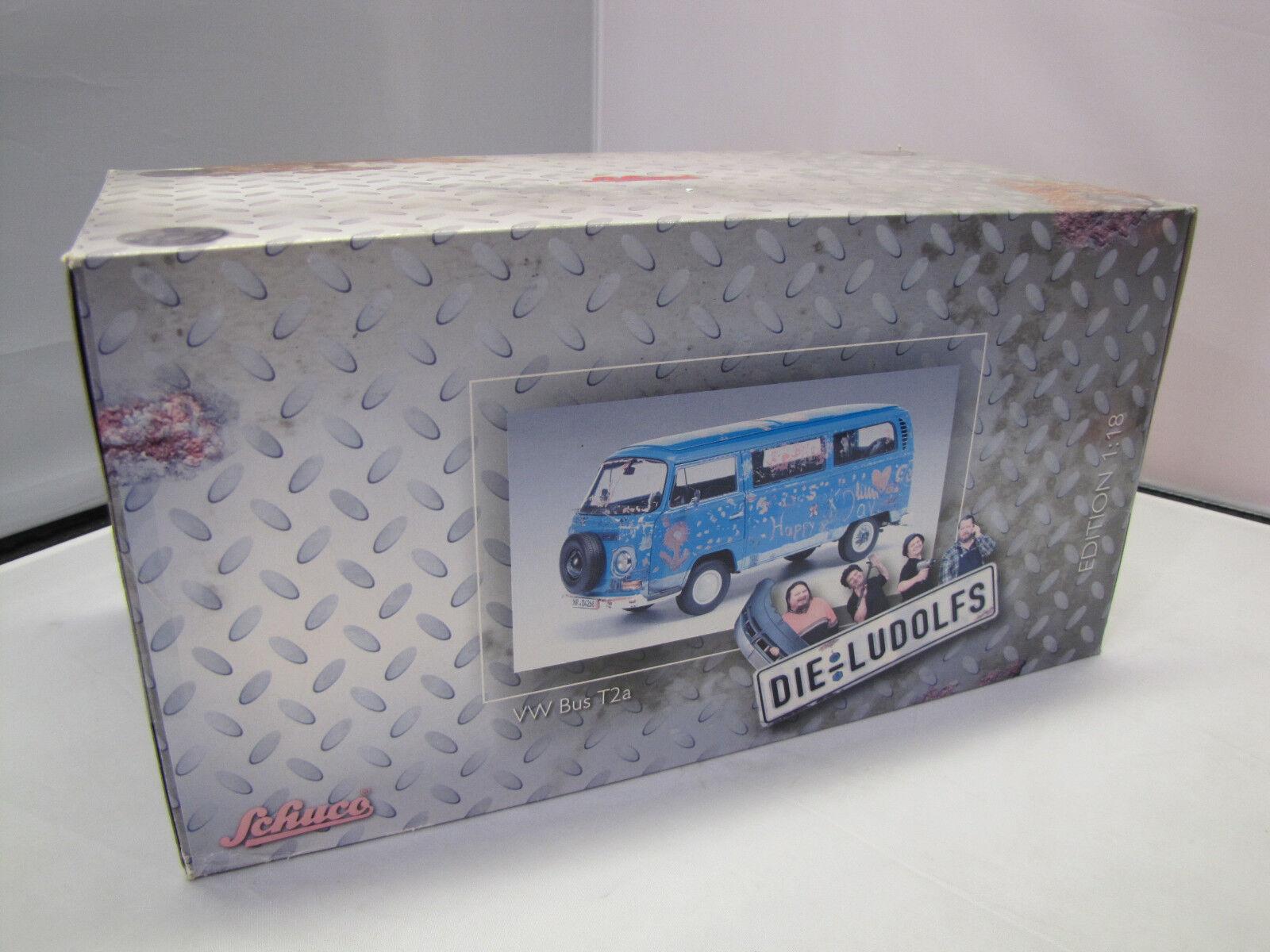 Schuco - Art.Nr. 450019300 - Volkswagen T2a Bus - Die Ludolfs - 1 18 - Rarität    New Product 2019