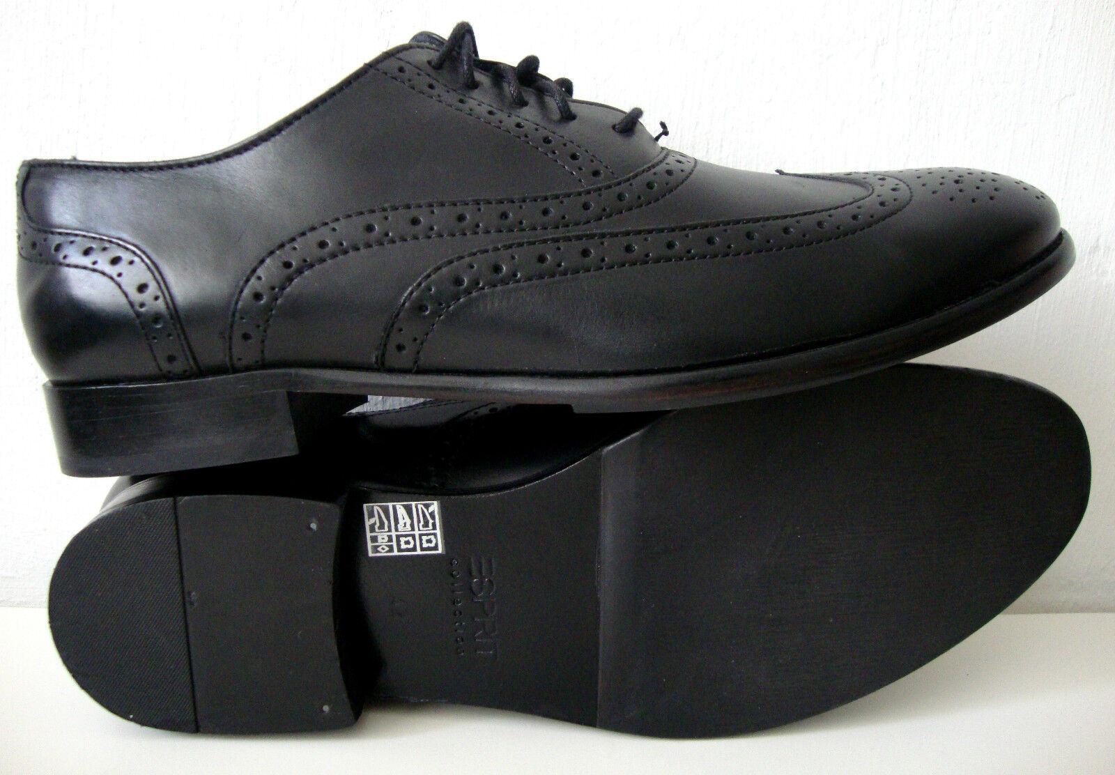 Casual salvaje Bugatti señores Business-zapato de cuero coñac en la talla 45