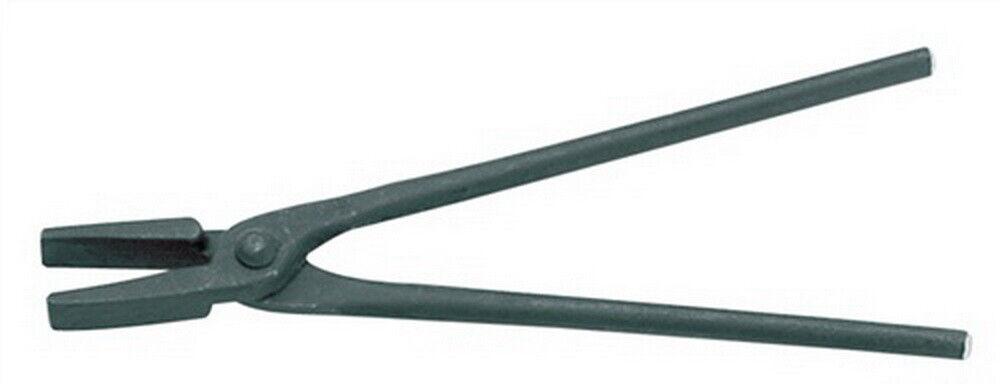 Schmiedezange 400mm mit flachem Maul