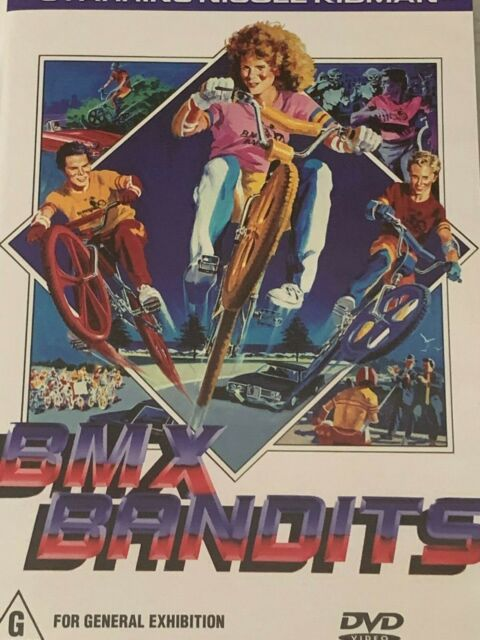 BMX Bandits  Nicole Kidman DVD Like New