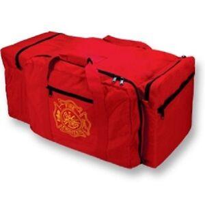 """RED JUMBO GEAR BAG (33""""L x 15""""D x 17""""H) NEW"""