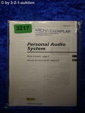 Sony Bedienungsanleitung ZS D1 Mini Disc System (#3217)