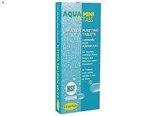 Aqua Clean Mini Tabs Bottle Water Purification Purifying Tablets 40 pcs