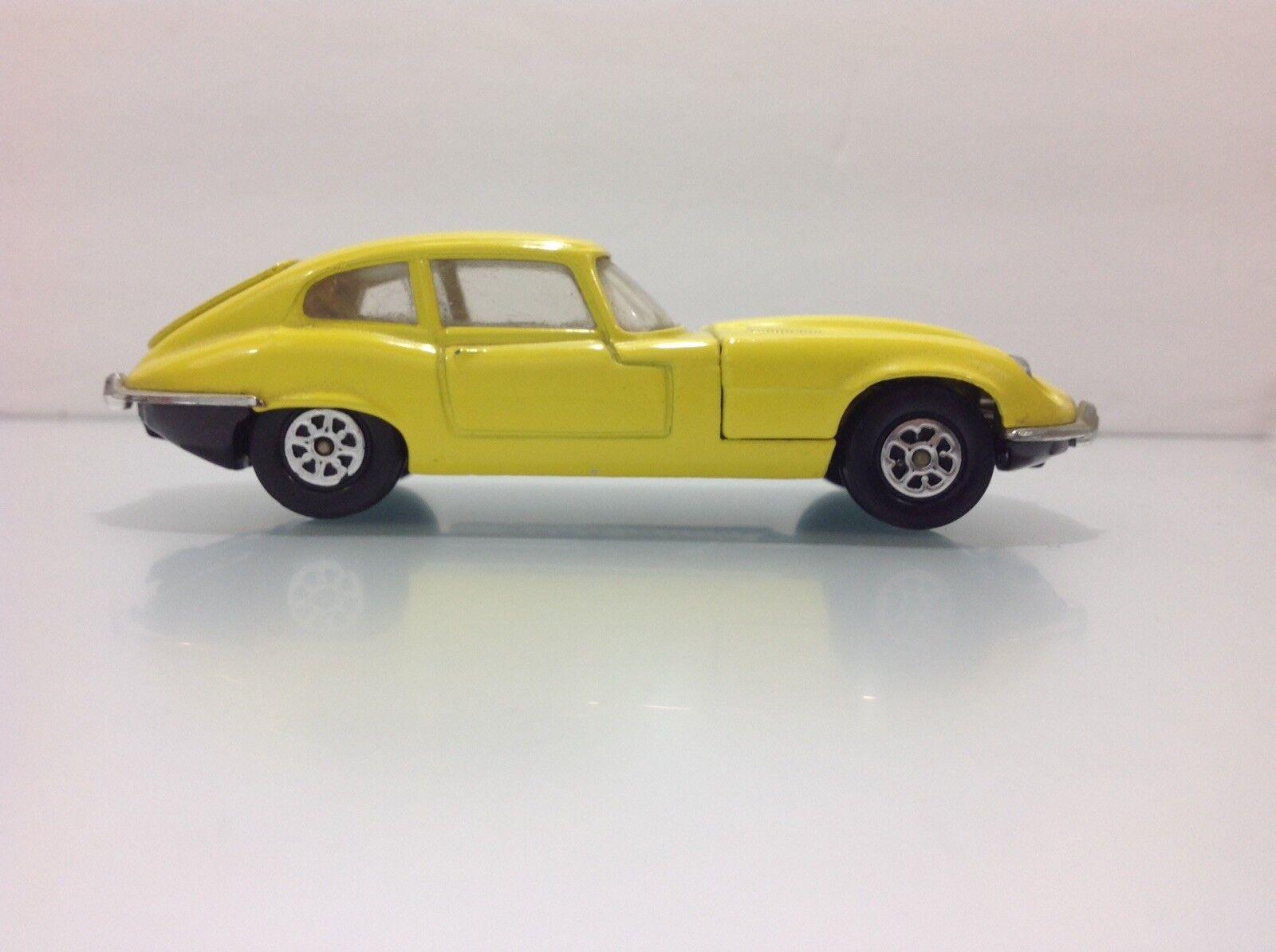 Jaguar e - type 2.2 corgi spielzeug whizzwheels v12 (jahrgang 1973)