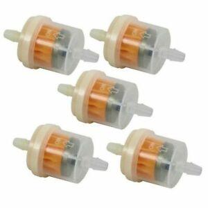 5-X-Universal-Kraftstofffilter-6mm-8mm-Benzinfilter-Filter-Motorrad-Roller-Auto