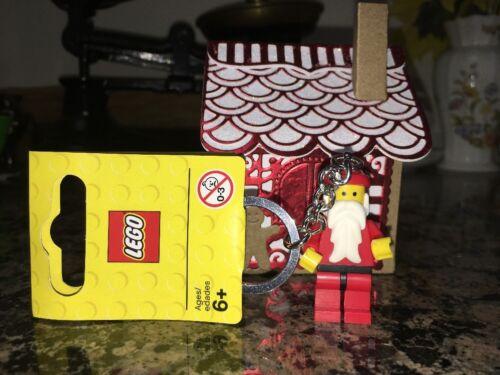 LEGO 850150 SANTA CLAUS FATHER CHRISTMAS KEY CHAIN BRAND NEW KEYRING